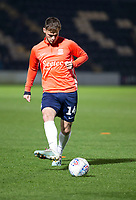 3rd December 2019; Pirelli Stadium, Burton Upon Trent, Staffordshire, England; English League One Football, Burton Albion versus Southend United; Brandon Goodship of Southend United passing the ball during the warm up - Strictly Editorial Use Only. No use with unauthorized audio, video, data, fixture lists, club/league logos or 'live' services. Online in-match use limited to 120 images, no video emulation. No use in betting, games or single club/league/player publications