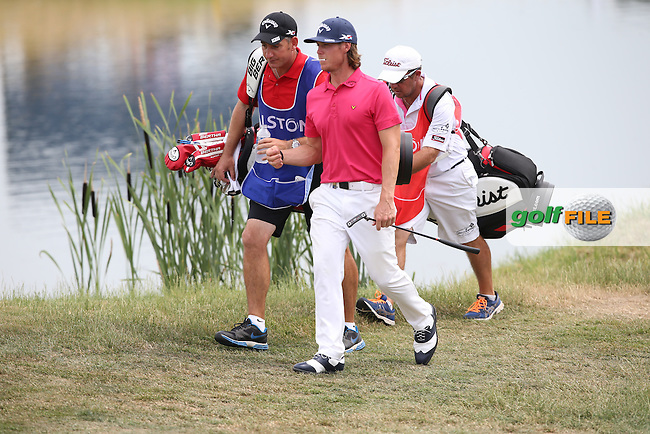 Kristoffer Broberg (SWE) heading to 16 during Round Three of the 2015 Alstom Open de France, played at Le Golf National, Saint-Quentin-En-Yvelines, Paris, France. /04/07/2015/. Picture: Golffile | David Lloyd<br /> <br /> All photos usage must carry mandatory copyright credit (&copy; Golffile | David Lloyd)