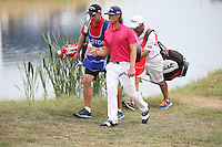 Kristoffer Broberg (SWE) heading to 16 during Round Three of the 2015 Alstom Open de France, played at Le Golf National, Saint-Quentin-En-Yvelines, Paris, France. /04/07/2015/. Picture: Golffile | David Lloyd<br /> <br /> All photos usage must carry mandatory copyright credit (© Golffile | David Lloyd)