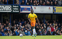 Anthony Stewart of Wycombe Wanderers looks for options during the Sky Bet League 2 match between Portsmouth and Wycombe Wanderers at Fratton Park, Portsmouth, England on 23 April 2016. Photo by Andy Rowland.