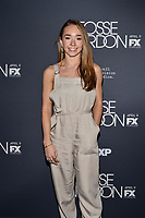 "NEW YORK - APRIL 8: Holly Taylor attends the premiere event for FX's ""Fosse Verdon"" presented by FX Networks, Fox 21 Television Studios, and FX Productions at the Gerald Schoenfeld Theatre on April 8, 2019 in New York City. (Photo by Anthony Behar/FX/PictureGroup)"