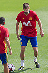 Gerard Pique during the training of the spanish national football team in the city of football of Las Rozas in Madrid, Spain. August 28, 2017. (ALTERPHOTOS/Rodrigo Jimenez)