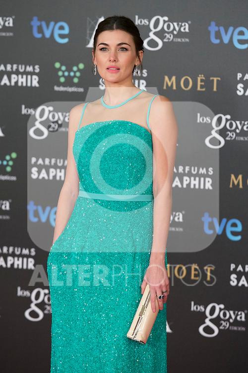 Marta Nieto attend the 2015 Goya Awards at Auditorium Hotel, Madrid,  Spain. February 07, 2015.(ALTERPHOTOS/)Carlos Dafonte)