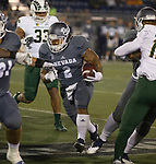 Nevada running back Devonte Lee (2)runs against Colorado State in the first half of an NCAA college football game in Reno, Nev., Saturday, Oct. 27, 2018. (AP Photo/Tom R. Smedes)