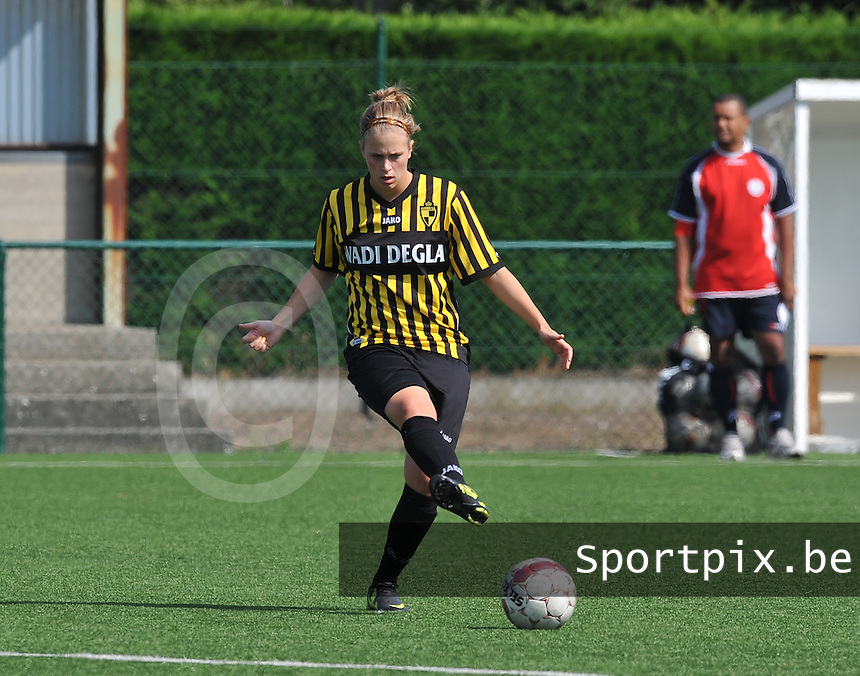 WD Lierse SK : Caroline Berrens.foto DAVID CATRY  / Vrouwenteam.be.