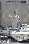 2017 F4 US Championship<br /> Rounds 4-5-6<br /> Indianapolis Motor Speedway, Speedway, IN, USA<br /> Sunday 11 June 2017<br /> Winner of all 3 races during the Indy weekend, Kyle Kirkwood with traditional Indy milk celebration<br /> World Copyright: Dan R. Boyd<br /> LAT Images
