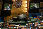 General Assembly 70th session: 39th plenary meeting<br /> Sport for development and peace: building a peaceful and better world through sport and the Olympic ideal: draft resolution (A/70/L.3) [item 12]