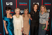 Carla Gugino, Ellen Burstyn, Bonnie Hammer, Sigourney Weaver and Arianna Huffington at the screening of USA Network's 'Political Animals' at the Morgan Library & Museum in New York City. June 25, 2012. © Ronald Smits/MediaPunch Inc. *NORTEPHOTO* **SOLO*VENTA*EN*MEXICO** **CREDITO*OBLIGATORIO** **No*Venta*A*Terceros** **No*Sale*So*third** *** No*Se*Permite Hacer Archivo** **No*Sale*So*third** *Para*más*información:*email*NortePhoto@gmail.com*web*NortePhoto.com*