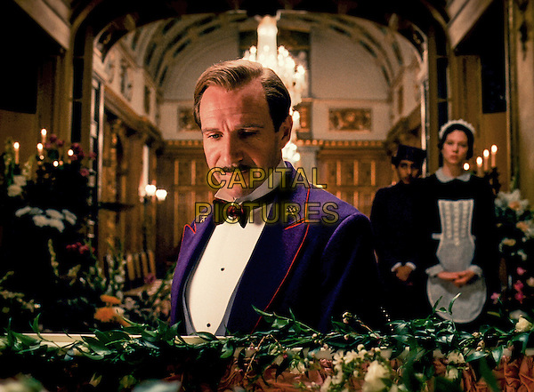 Ralph Fiennes<br /> in The Grand Budapest Hotel (2014) <br /> *Filmstill - Editorial Use Only*<br /> CAP/FB<br /> Image supplied by Capital Pictures