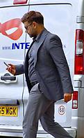 2019 07 17 Tony Richards leaves Merthyr Crown Court, Wales, UK