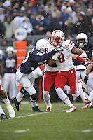 23 November 2013:  Nebraska RB Ameer Abdullah (8). The Nebraska Cornhuskers defeated the Penn State Nittany Lions 23-20 in overtime at Beaver Stadium in State College, PA.