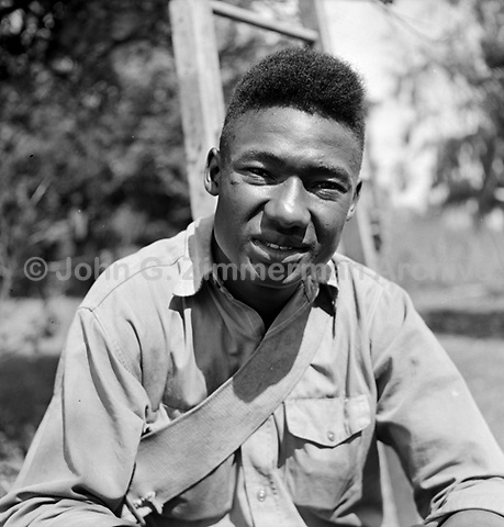 David Reese, Tampa Florida, 1952. An orange picker, Reese was held in prison for 19 months after being acquitted on a murder charge in Hernando County. CREDIT: JOHN G. ZIMMERMAN