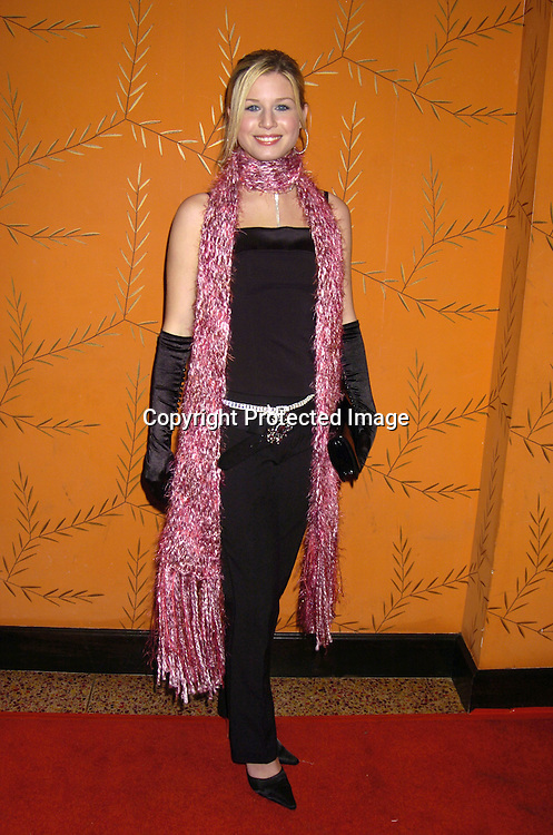 Stephanie Gatschet..Maureen Garrett..at the Procter and Gamble Christmas Party at LQ on ..December 10, 2004. ..Photo by Robin Platzer, Twin Images