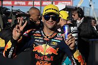 16th November 2019; Circuit Ricardo Tormo, Valencia, Spain; Valencia MotoGP, Qualifying Day; Moto2 rider Jorge Martin (RedBull KTM) 2nd on pole - Editorial Use