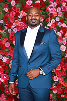 NEW YORK, NY - JUNE 10: Brandon Victor Dixon   at the 72nd Annual Tony Awards at Radio City Music Hall in New York City on June 10, 2018.