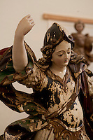 Goias Velho_GO, Brasil...Museu de Arte Sacra da Boa Morte. Na foto obra Sao Miguel do artista Veiga Valle...Boa Morte sacred art museum. In this photo the saint Michael of the artist Veiga Valle...Foto: ALEXANDRE BAXTER / NITRO