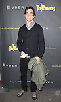 Justin Long attending the Broadway Opening Night Performance of 'The Performers' at the Longacre Theatre in New York City on 11/14/2012