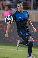 STANFORD, CA - JUNE 29: Vako Qazaishvili #11 during a Major League Soccer (MLS) match between the San Jose Earthquakes and the LA Galaxy on June 29, 2019 at Stanford Stadium in Stanford, California.