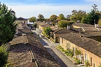 France, Gironde, Blaye, citadel, Reseau des sites majeurs de Vauban (Fortifications of Vauban UNESCO World Heritage Site), barracks of the old military city // France, Gironde (33), Blaye, la citadelle, Réseau des sites majeurs Vauban, classé Patrimoine mondial de l'UNESCO, casernements de l'ancienne cité militaire
