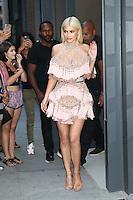 NEW YORK, NY - September 9: Kylie Jenner seen on September 9, 2016 in New York City. Credit: DC/Media Punch