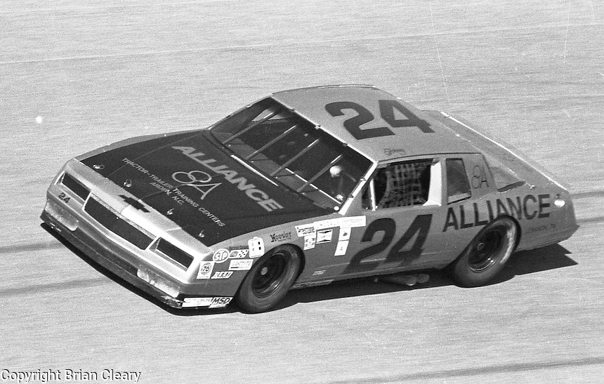 Johnny McFadden ARCA car Daytona 500 at Daytona International Speedway on February 19, 1989.  (Photo by Brian Cleary/www.bcpix.xom)