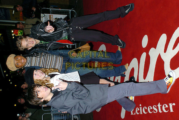 JOEY GAYDOS, CAITLIN HALE, MARYAM HASSAN & KEVIN ALEXANDER CLARK.School oF Rock Premiere.full length, full-length, hand gesture.www.capitalpictures.com.sales@capitalpictures.com.©Capital Pictures
