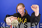 WORLD CHAMPION: Naomi O'Brien from Tralee who won the World Kickboxing title in Florida last week with her dad, Michael, who also competed at the world finals.   Copyright Kerry's Eye 2008