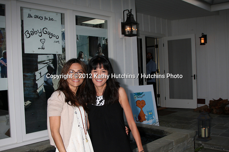"LOS ANGELES - APR 28:  Vanessa Marcil-Giovinazzo, Suzanne Whang at the Launch of ""Baby Gagoo"" Clothing Line by Vanessa Marcil-Giovinazzo at private home on April 28, 2012 in Malibu, CA"