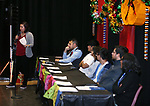 Students speak at the Posada Celebration at Western Nevada College in Carson City, Nev., on Saturday, Dec. 16, 2017. <br /> Photo by Cathleen Allison/Nevada Momentum