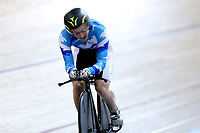 Mark Hopkinson of Auckland competes in the Masters Men 4 2000m IP final at the Age Group Track National Championships, Avantidrome, Home of Cycling, Cambridge, New Zealand, Friday, March 17, 2017. Mandatory Credit: © Dianne Manson/CyclingNZ  **NO ARCHIVING**
