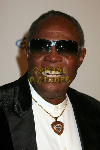 SAM MOORE.Clive Davis 2007 Pre-Grammy Awards Party at the Beverly Hilton Hotel, Beverly Hills, USA..February 10th, 2007.headshot portrait sunglasses shades gold superman necklace .CAP/ADM/BP.©Byron Purvis/AdMedia/Capital Pictures
