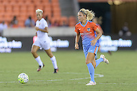 Houston, TX - Saturday July 30, 2016: Rachel Daly during a regular season National Women's Soccer League (NWSL) match between the Houston Dash and the Western New York Flash at BBVA Compass Stadium.