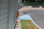 Alain Prost  FormulaE Test Day Donington Park  11th August 2015<br /> <br /> Photo:  - Richard Washbrooke Photography