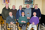 The Maine Valley teamfrom 1959-60 that won the County Novice and Senior titles were honoured at the Maine Valley AC awards night in Sherwoods bar on Friday night  front row l-r: John Joe Daly, John O'Donoghue, Tom Walsh. Back row: Matt Horgan, Donal Brassil, Tom McCarthy, Jim O'Shea and Michael Kelly