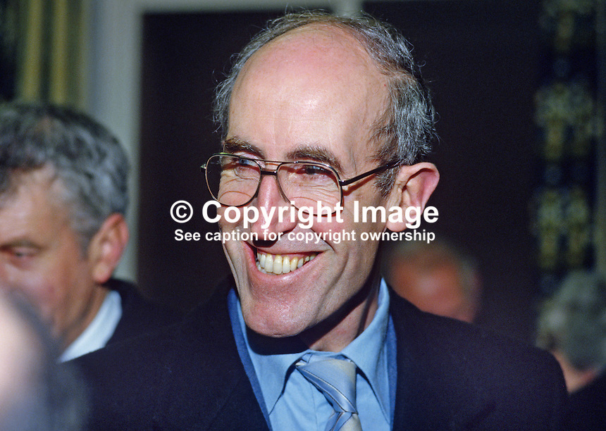 Ivan Wallace, senior chief inspector of schools, Dept of Education, N Ireland, 19850024IW..Copyright Image from Victor Patterson, 54 Dorchester Park, Belfast, UK, BT9 6RJ..Tel: +44 28 9066 1296.Mob: +44 7802 353836.Voicemail +44 20 8816 7153.Skype: victorpattersonbelfast.Email: victorpatterson@mac.com.Email: victorpatterson@ireland.com (back-up)..IMPORTANT: If you wish to use this image or any other of my images please go to www.victorpatterson.com and click on the Terms & Conditions. Then contact me by email or phone with the reference number(s) of the image(s) concerned.