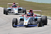 2017 F4 US Championship<br /> Rounds 1-2-3<br /> Homestead-Miami Speedway, Homestead, FL USA<br /> Saturday 8 April 2017<br /> #40 of Jack William Miller follwed by teammate, #96 Lawson Nagel<br /> World Copyright: Dan R. Boyd/LAT Images