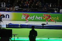 SCHAATSEN: HEERENVEEN: Thialf, KPN NK Sprint, 30-12-11, Annette Gerritsen, Margot Boer, ©foto: Martin de Jong.