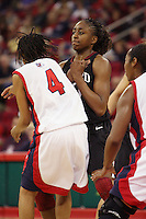 FRESNO, CA - DECEMBER 30:  Nnemkadi Ogwumike of the Stanford Cardinal during Stanford's 68-46 win over the Fresno State Bulldogs on December 30, 2009 in Fresno, California.