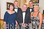 Pictured at the Kerry County Hunt Club social in Darby O'Gills hotel, Killarney on Saturday night were Angela McSweeney, Timmy O'Connor, John Dwyer, Michael Cronin and Karen Hickey. ..........................