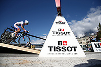 Picture by Alex Whitehead/SWpix.com - 24/09/2018 - Cycling 2018 Road Cycling World Championships Innsbruck-Tiriol, Austria - Junior Men's Individual Time Trial - Julian Espinoza of Costa Rica.