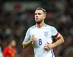 England's Jordan Henderson in action during the friendly match at Wembley Stadium, London. Picture date November 15th, 2016 Pic David Klein/Sportimage