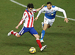 Atletico de Madrid's Tiago Mendes (l) and UD Almeria's Tomer Hemed during La Liga match.February 21,2015. (ALTERPHOTOS/Acero)