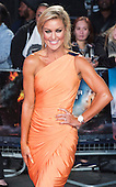 London, UK. 26 September 2016. Dancer Natalie Lowe. Red carpet arrivals for the European Premiere of the Hollywood movie Deepwater Horizon in Leicester Square. The movie is based on the 2010 Deepwater Horizon explosion and oil spill in the Gulf of Mexico. © Bettina Strenske/Alamy Live News