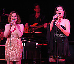 Christiane Noll & Linda Eder ('Jekyll & Hyde' Reunion) with Billy Jay Stein (at Piano) performing their show 'A New Life' at The Town Hall on October 13, 2012 in New York City.