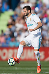 Jose Ignacio Fernandez Iglesias, Nacho, of Real Madrid in action during the La Liga 2017-18 match between Getafe CF and Real Madrid at Coliseum Alfonso Perez on 14 October 2017 in Getafe, Spain. Photo by Diego Gonzalez / Power Sport Images