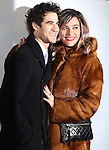 Darren Criss and Mia Swier attends the Broadway Opening Night Performance of 'Dear Evan Hansen'  at The Music Box Theatre on December 4, 2016 in New York City.