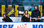 Stockholm 2014-03-21 Ishockey Kvalserien AIK - R&ouml;gle BK :  <br /> Isabel Boltenstern Viasat Sport<br /> (Foto: Kenta J&ouml;nsson) Nyckelord:  portr&auml;tt portrait