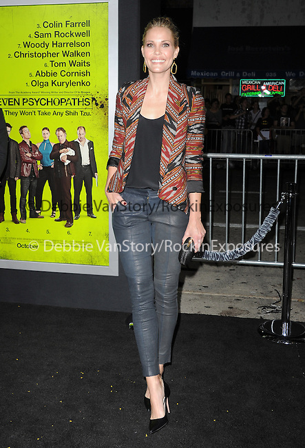Leslie Bibb at The CBS Films L.A. Premiere of Seven Psychopaths Premiere held at The Bruin Theatre in Westwood, California on October 01,2012                                                                               © 2012 Hollywood Press Agency