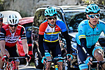 Overall race leader Gorka Izagirre (ESP) Astana Pro Team during Stage 3 of the 2019 Tour de La Provence, running 185.5km from Aubagne to Circuit du Castellet, France. 16th February 2019.<br /> Picture: SHIFT Active Media | Cyclefile<br /> <br /> <br /> All photos usage must carry mandatory copyright credit (© Cyclefile | SHIFT Active Media)
