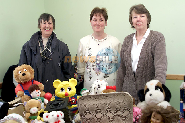 Kathleen Harding, Greta McGuinness and Dianne Murphy at the Duleek Coffe morning..Picture Paul Mohan Newsfile